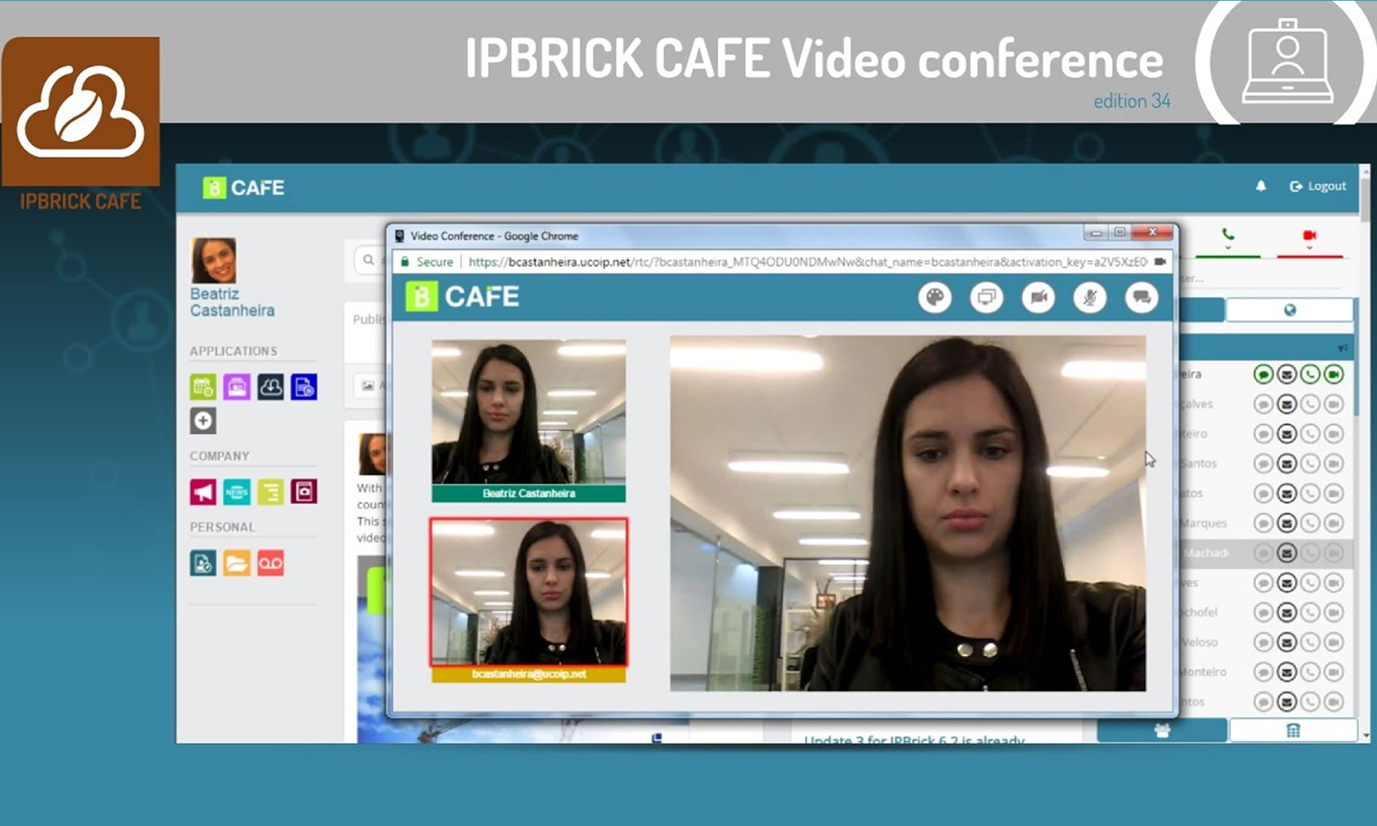 ipbrick cafe enterpise social network
