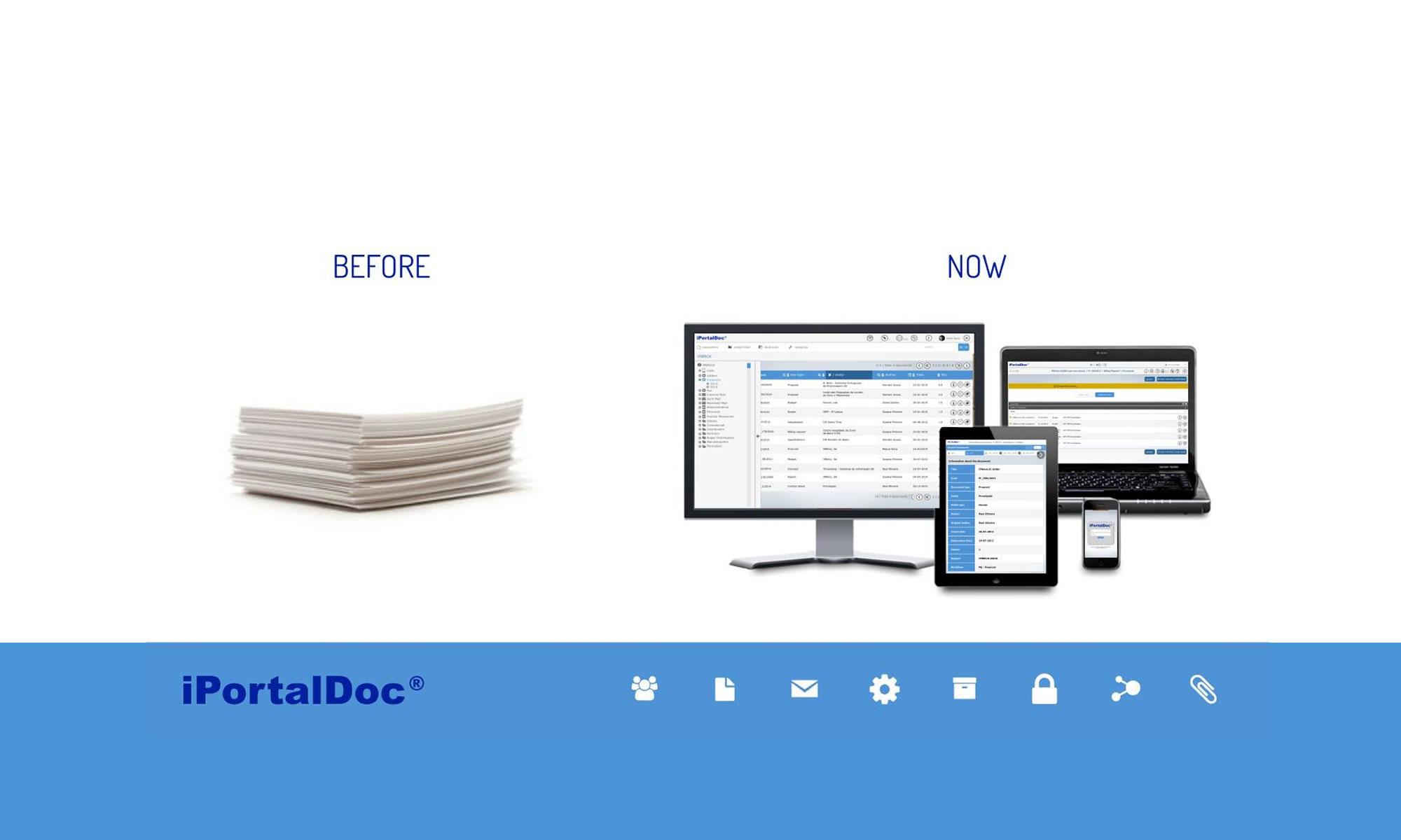 Iportaldoc workflow and document management